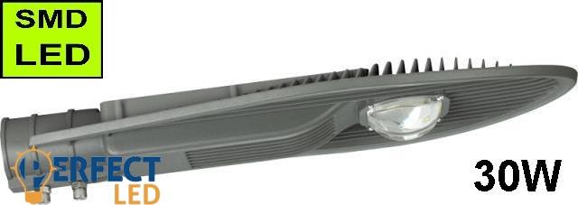 LED Közvilágítási lámpatest, utcai világítás 30W