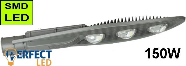 LED Közvilágítási lámpatest, utcai világítás 150W