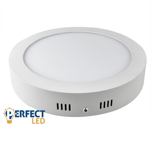24W LED mennyezeti lámpa falon kívüli kerek meleg fehér