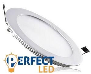 15W természetes fehér mennyezetbe süllyeszthető kerek LED panel