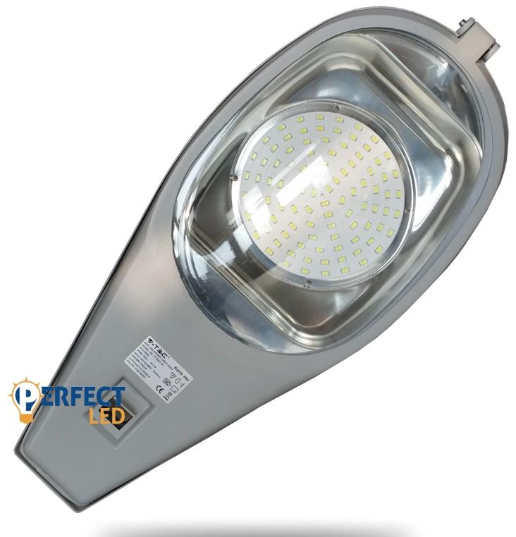Led Közvilágítási lámpatest, utcai lámpa SMD 50W CW