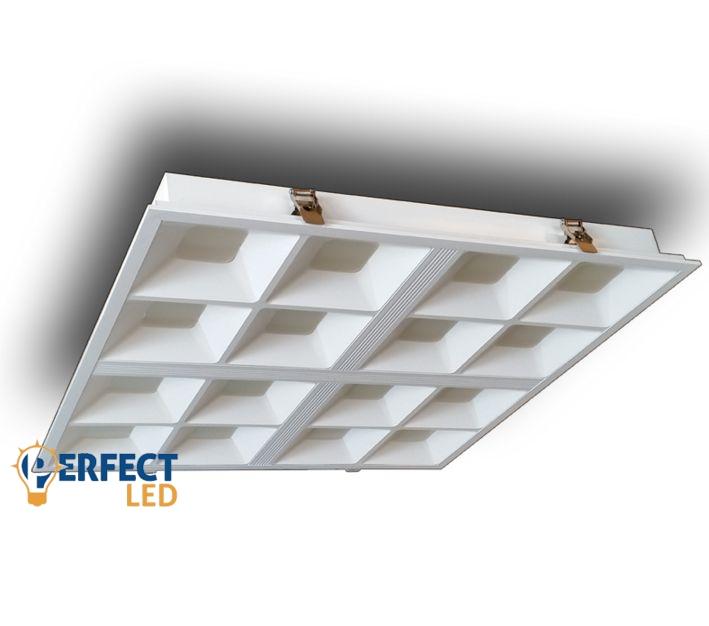 40W LED panel 60x60cm-es mátrix természetes fehér