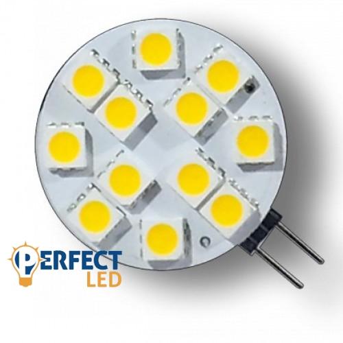 LED égõ G4 foglalattal 12V 2,5W meleg fehér
